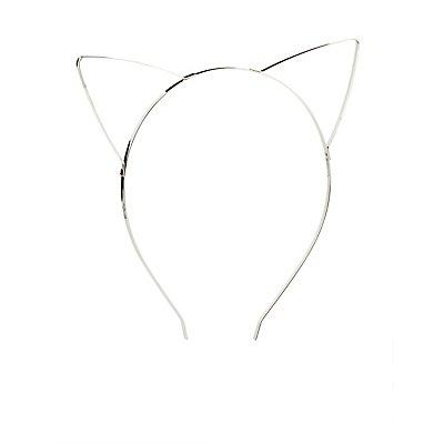 Cat & Flower Headbands - 2 Pack