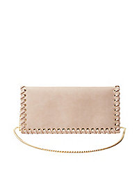 Whipstitch Convertible Clutch