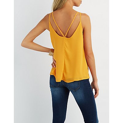 Strappy Cut-Out Tank