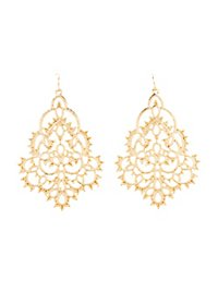 Filagree Statement Earrings