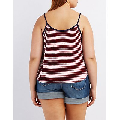 Plus Size Graphic Tank Top