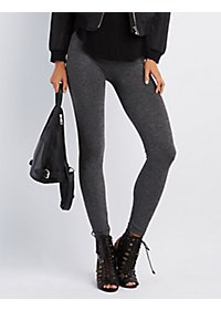 Melange Stretch Leggings