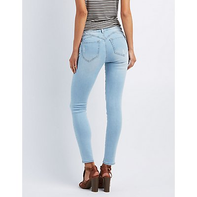 Women's Jeans Jeggings & Trendy Denim | Charlotte Russe