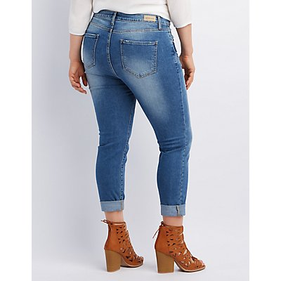 Cello Medium Wash Skinny Jeans