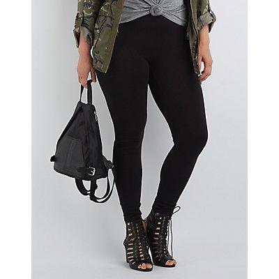 Plus Size Stretch Leggings