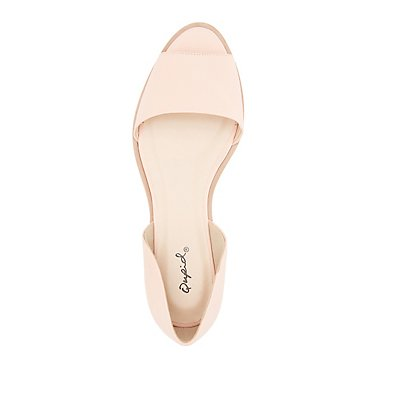 Qupid Two-Piece Flats