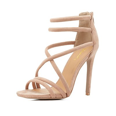 Qupid Tubular Dress Sandals