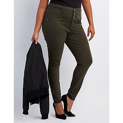 Plus Size Refuge Hi-Waist Skinny Jeans