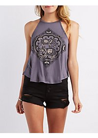 Elephant Graphic Swing Tank