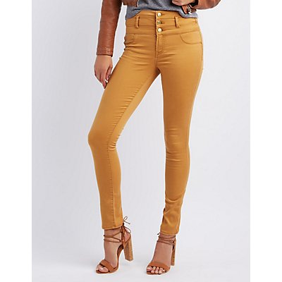 "Refuge ""Hi-Waist Skinny"" Jeans"