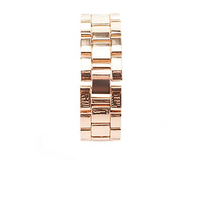 Rose Gold Rhinestone Watch