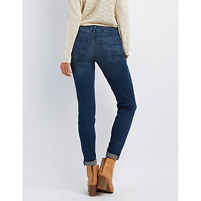Refuge Boyfriend Dark Wash Jeans