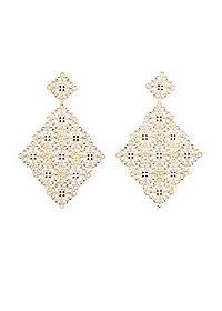 Filigree Statement Earrings