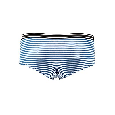 Striped-Band Cheeky Panties