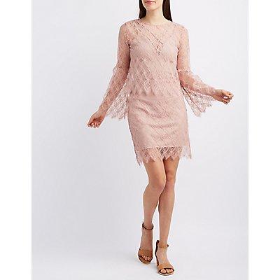 Sans Souci Lace Top & Skirt Hook-Up