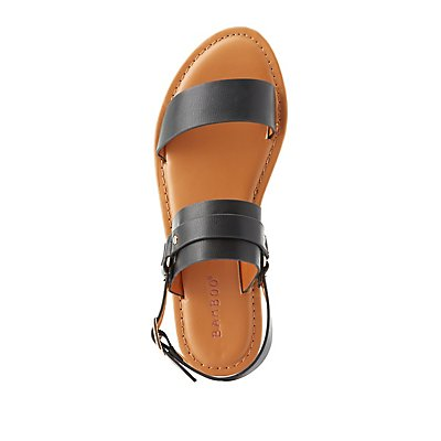 Bamboo Two-Piece Harness Sandals