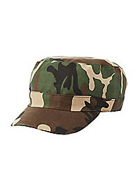 Camo Printed Hat