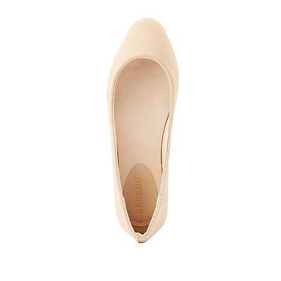 Almond Toe Flats