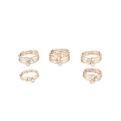 Embellished Rings - 15 Pack