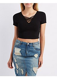 Caged Crop Top