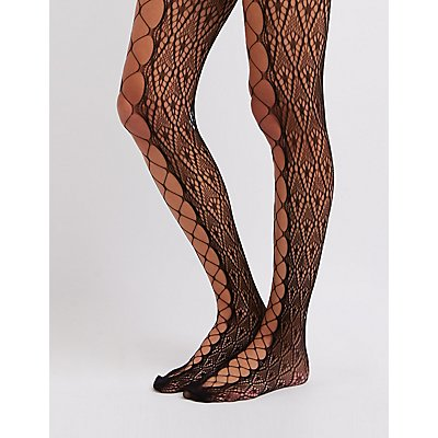 Open Knit Tights
