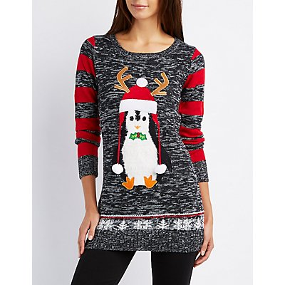 Penguin Marled Holiday Sweater