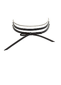 Layering Choker Necklaces - 2 Pack