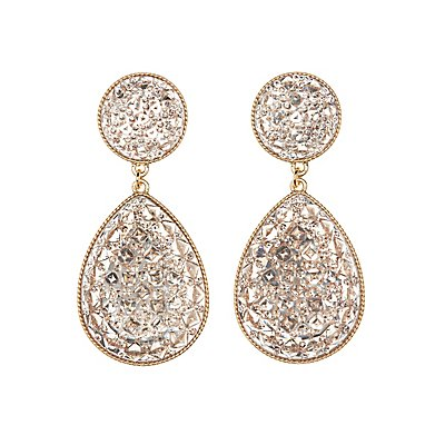 Teardrop Statement Earrings