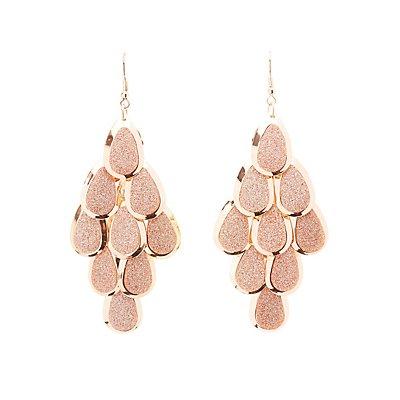 Glitter Kite Earrings