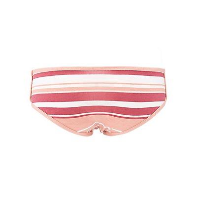 Striped Cheeky Panties