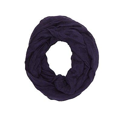 Open Knit Infinity Scarf