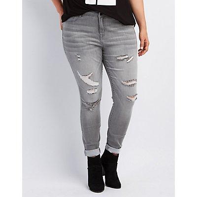 "Plus Size Refuge ""Skin Tight Legging"" Jeans"
