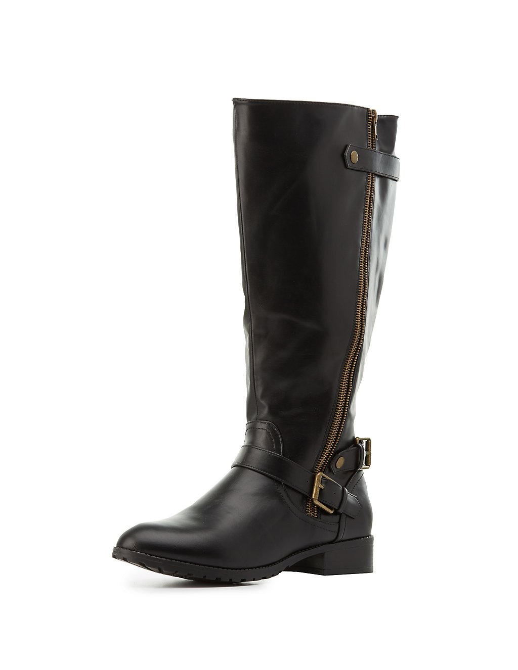 Wide Width Riding Boots | Charlotte Russe