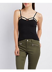 Strappy Skimmer Tank Top