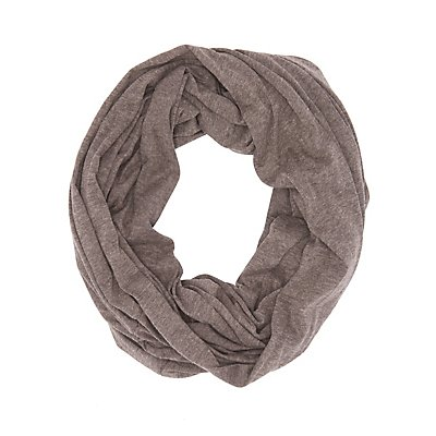 Marled Jersey Infinity Scarf
