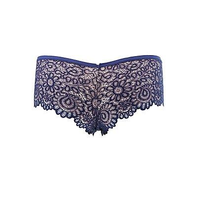 Scalloped Lace Boyshort Panties