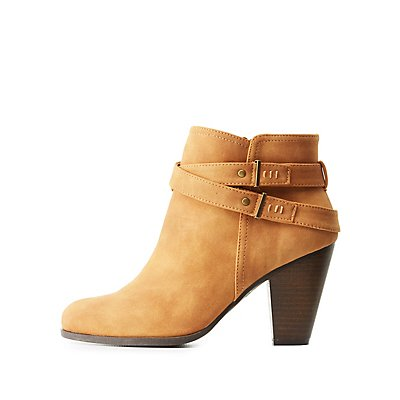 Wrapped Ankle Booties