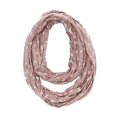Burnout Star Infinity Scarf