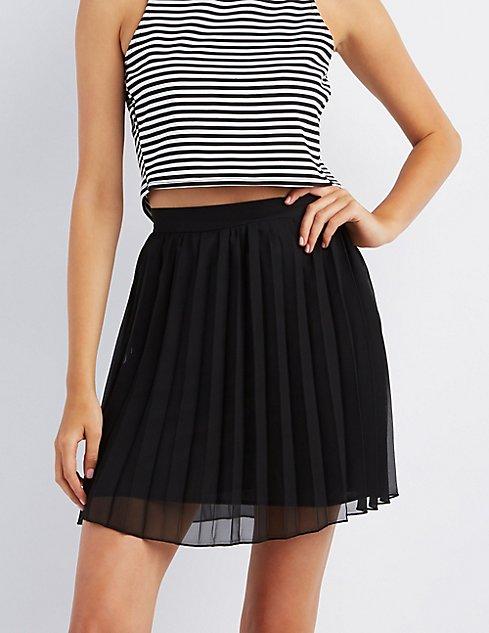 Pleated Mini Skirt | Charlotte Russe