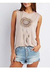 Dreamcatcher Graphic Tank Top