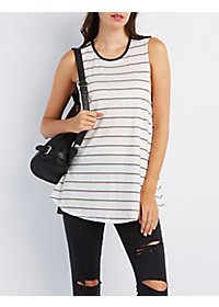 Striped Swing Tunic Top