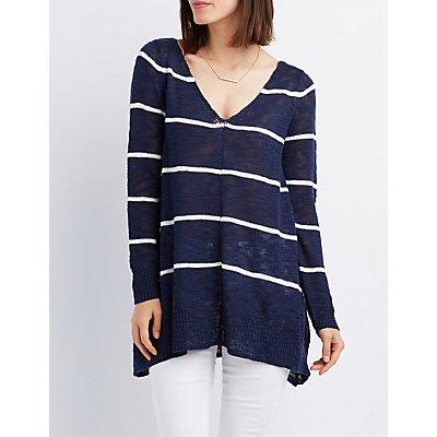 Striped Pullover Sweater