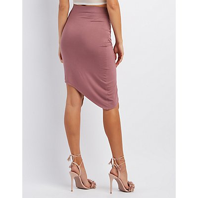 Wrapped Tulip Skirt