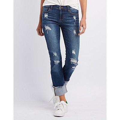 Sneak Peek Destroyed Boyfriend Jeans