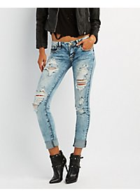 Machine Jeans Destroyed Boyfriend Jeans