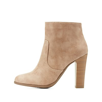 Almond Toe Ankle Booties