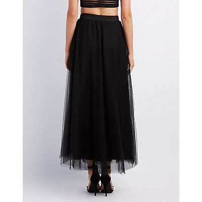 Tulle Full Maxi Skirt