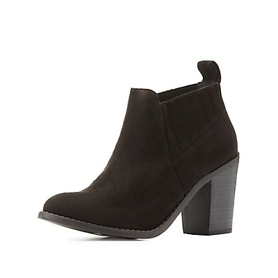 Pointed Toe Stretch Booties