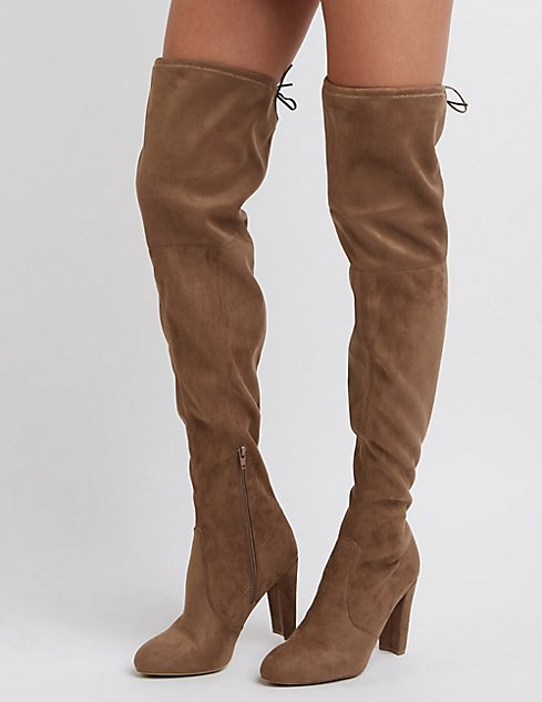 Buy Charlotte Russe Women's Black Thigh High Boots. Similar products also available. SALE now on!Price: $