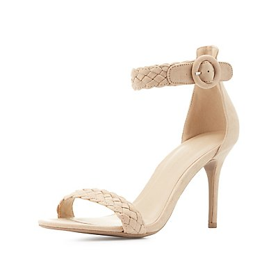 Braided Two Piece Dress Sandals